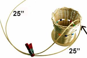 kids basket weaving