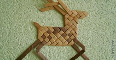 weaving reindeer