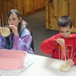 basket weaving with kids