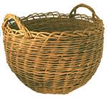 weaving large baskets